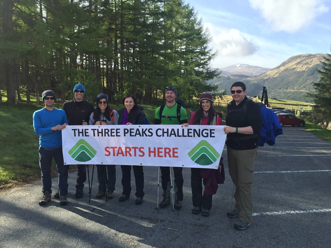 Three Peaks Start